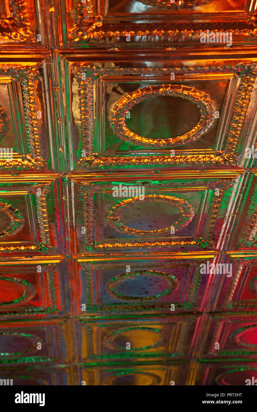 Illuminated Ceiling Tiles Stock Photo 221191204 Alamy