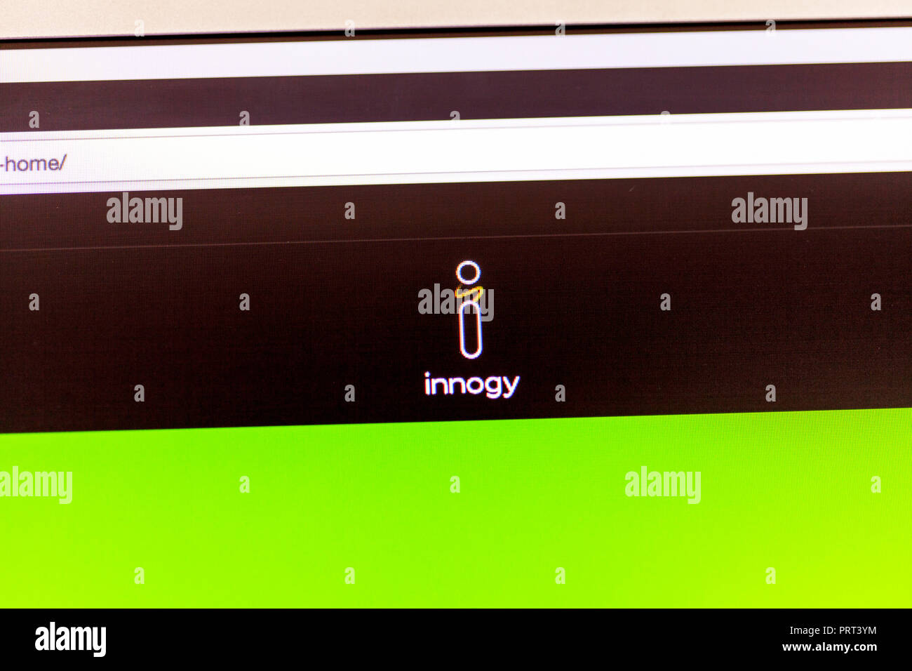 Innogy SE energy company, Innogy website, Innogy UK, Innogy logo, Innogy homepage, Innogy, logo, website, energy company UK, energy company's UK, Stock Photo
