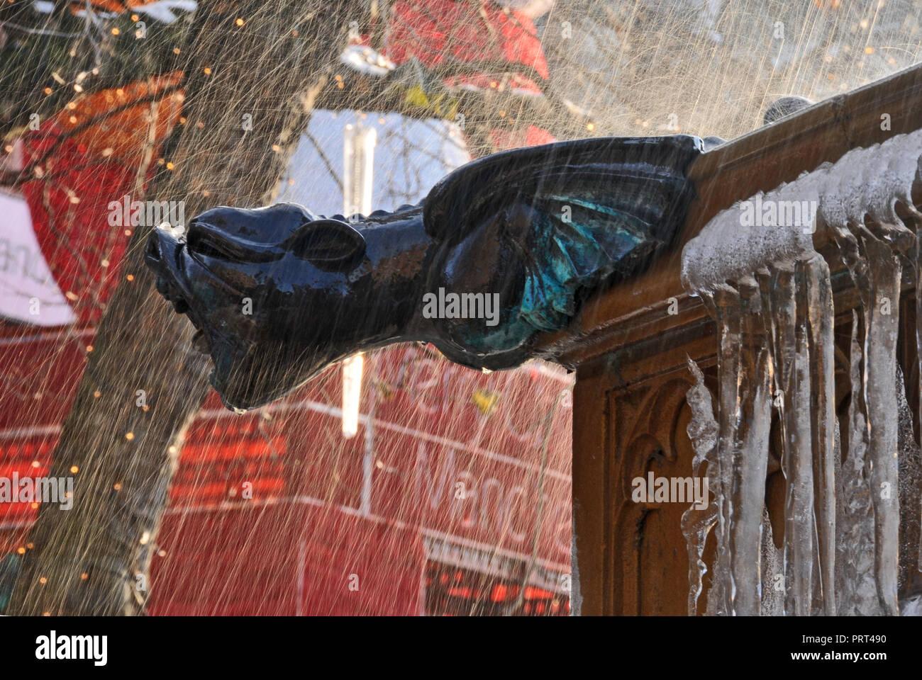 Water Fountain to Commemorate Queen Victoria's Diamond Jubilee - Stock Image