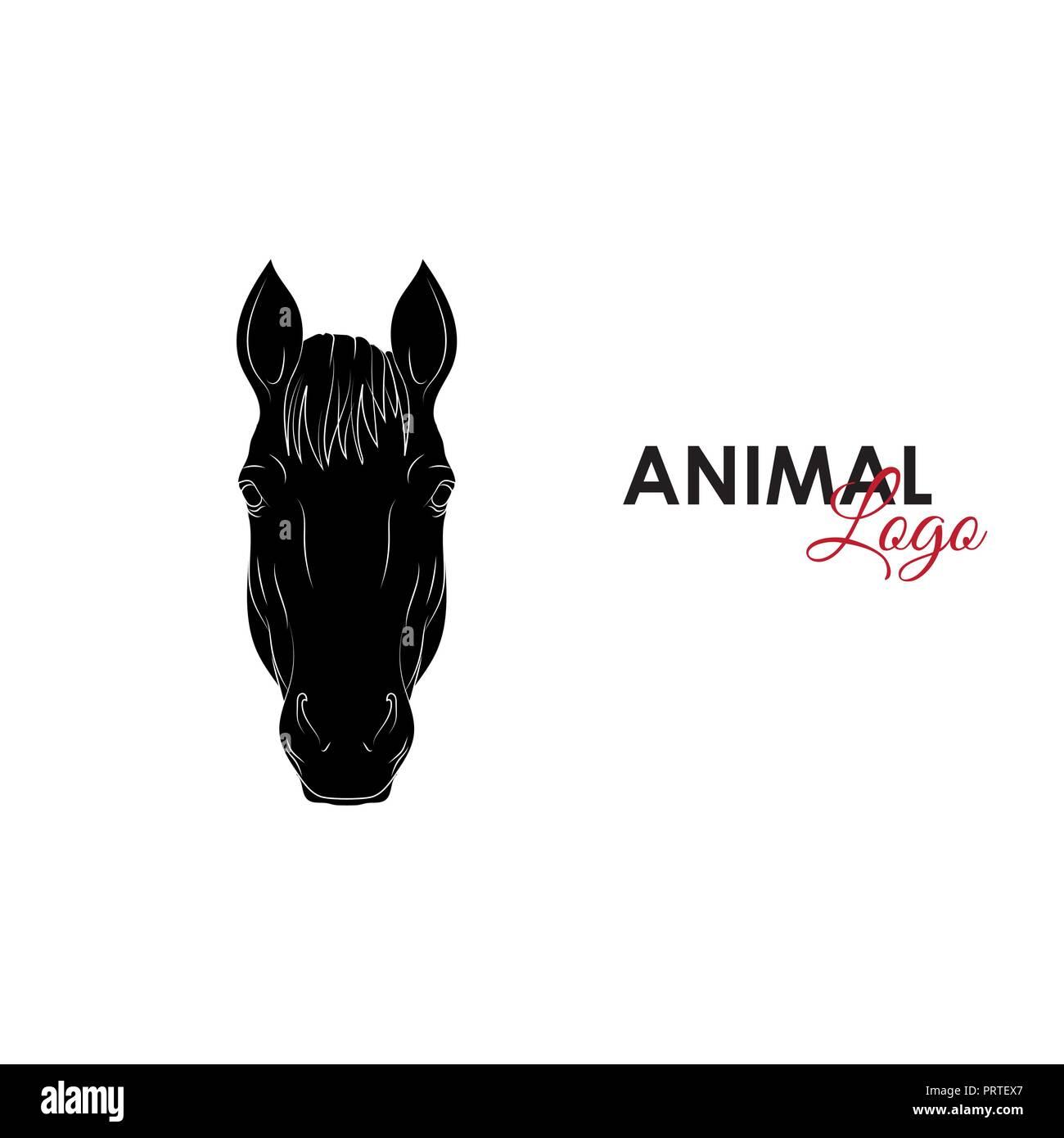 Horse Icon Logo Symbol Vector Illustration