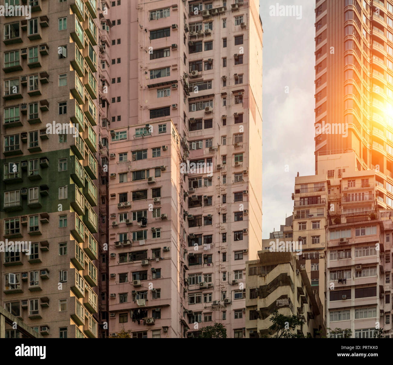 Hong Kong Apartments: Affordable Housing Stock Photos & Affordable Housing Stock