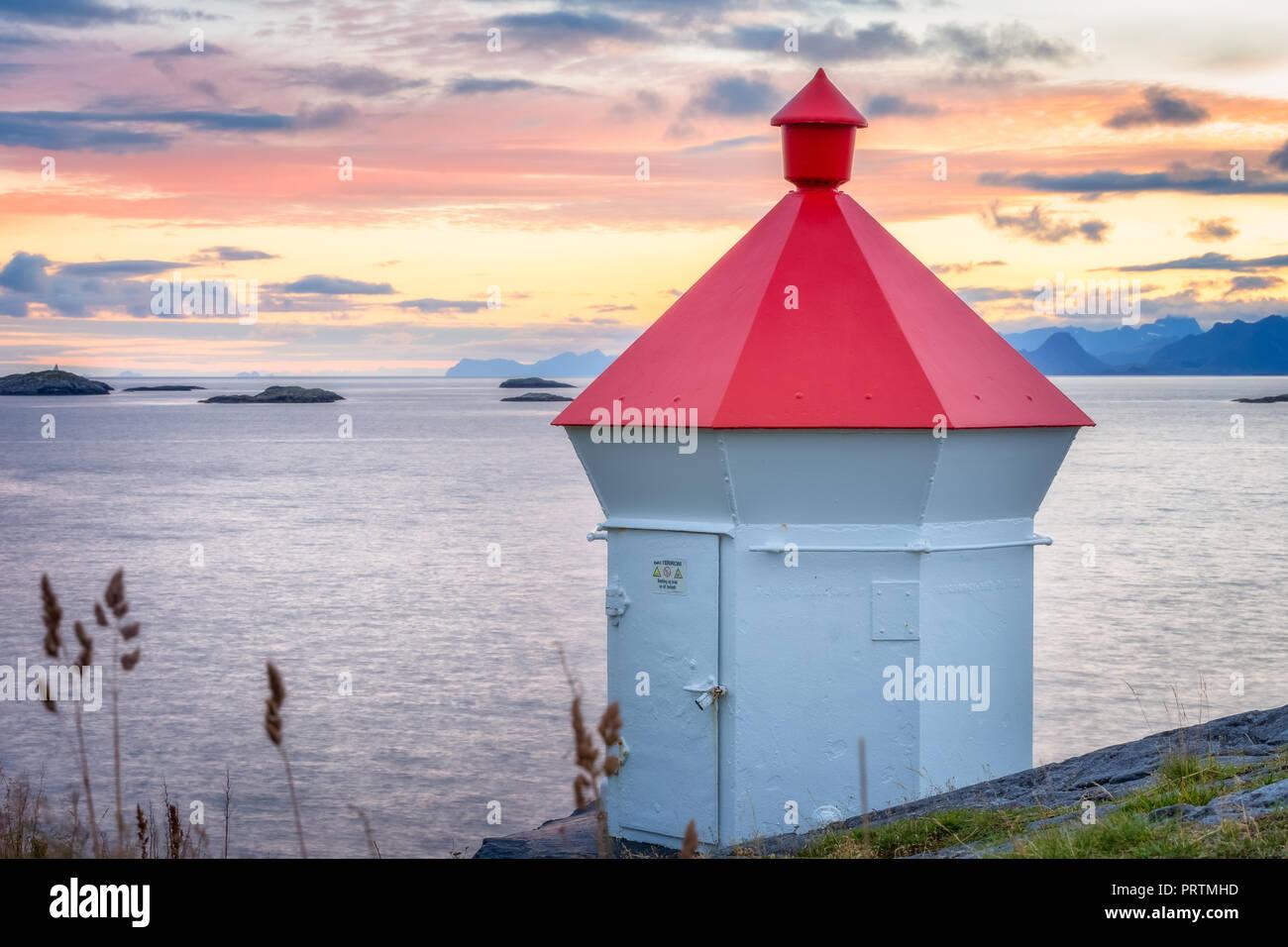 Henningsvaer, Lofoten, Norway - Stock Image