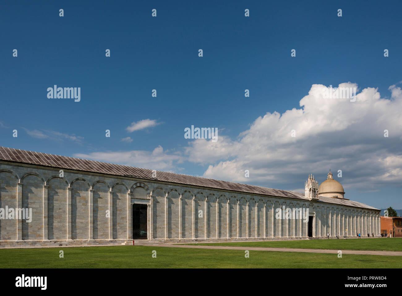 Camposanto Monumentale (cemetery) Pisa, Tuscany, Italy Stock Photo