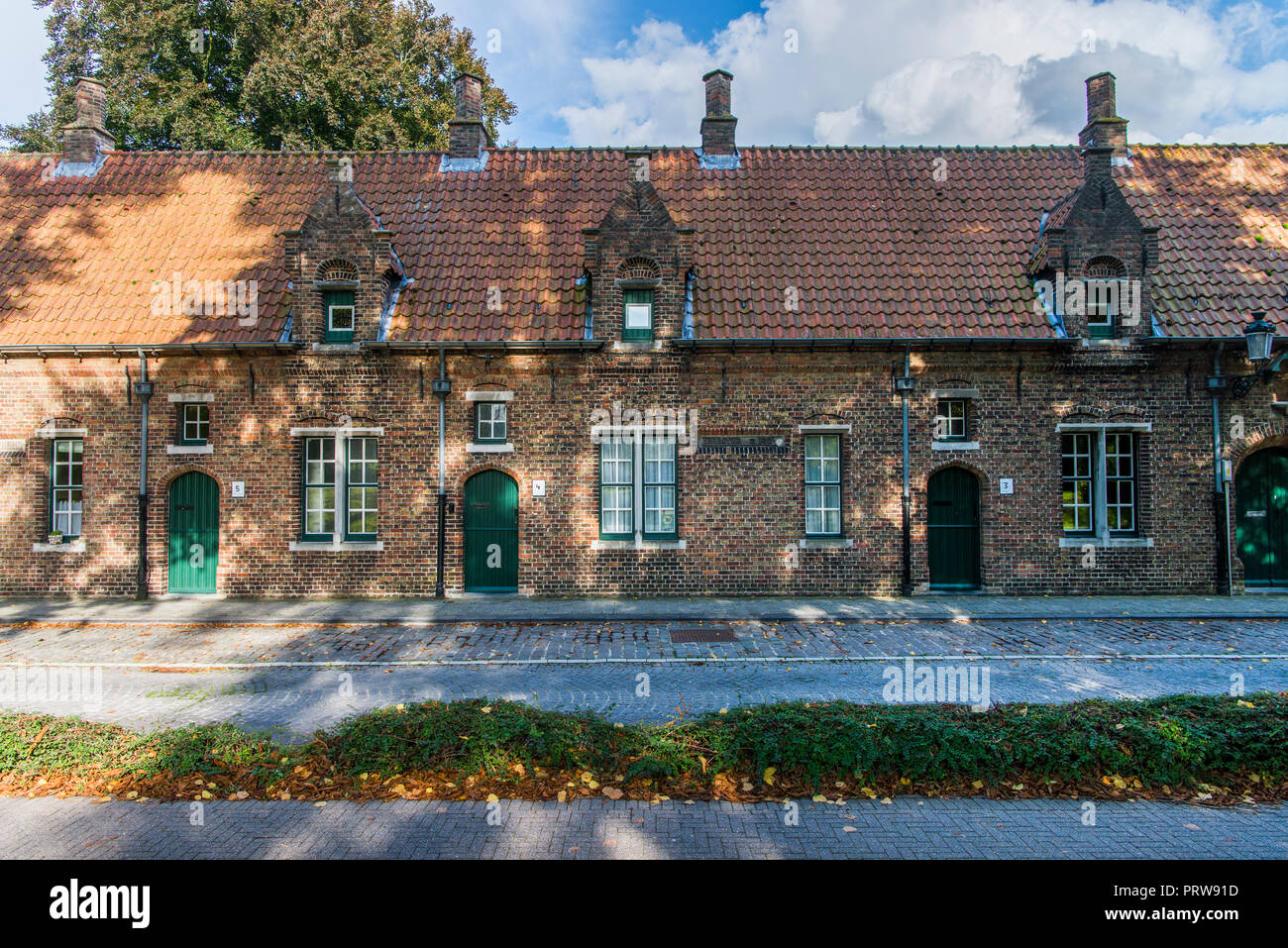 Houses of Brugge - Stock Image