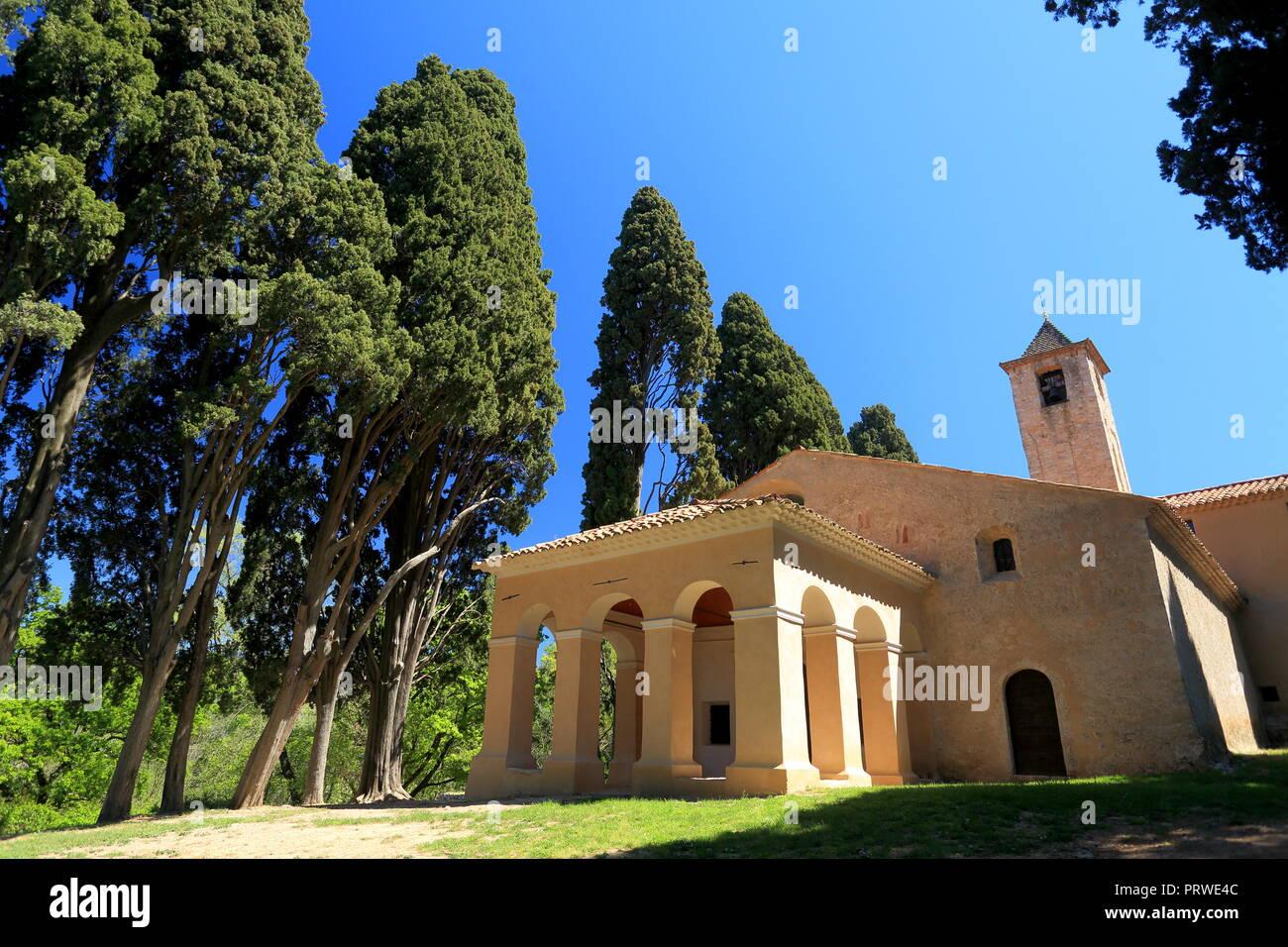 Notre Dame de vie, Mougins, 06, Alpes-Maritimes, Cote d'azur, PACA, - Stock Image