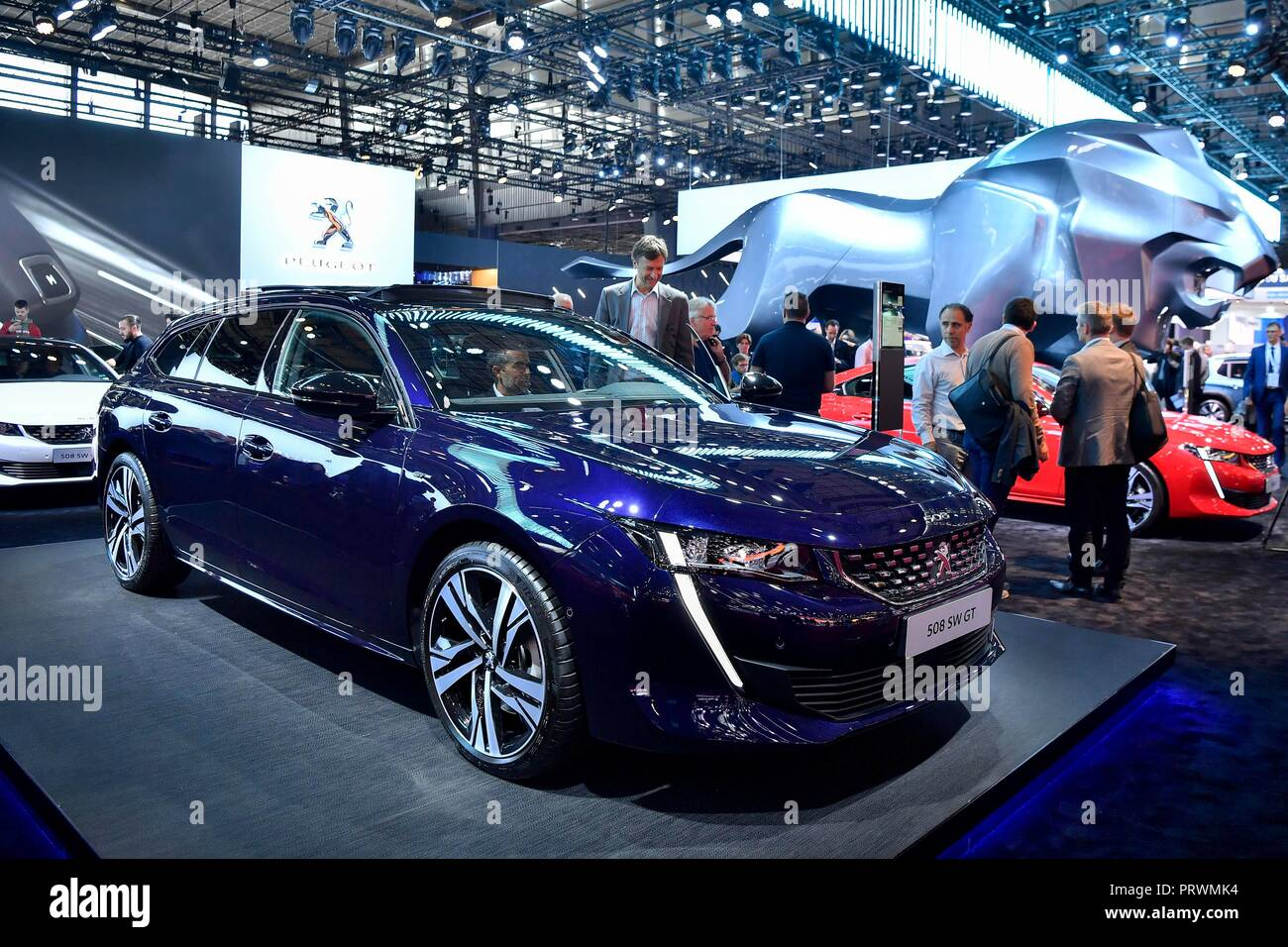 size 40 b4dd2 fba6f The newly released Peugeot s 508 SW GT is seen