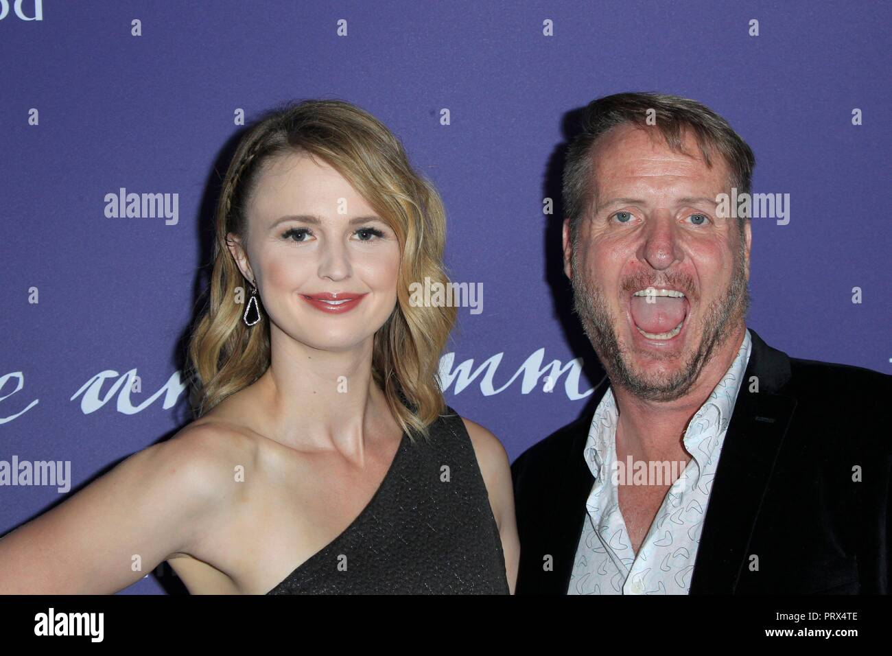 Los Angeles, CA, USA. 4th Oct, 2018. Madeline Jorgensen, Brent Jorgensen at arrivals for JANE AND EMMA Premiere, ArcLight Theater, Los Angeles, CA October 4, 2018. Credit: Priscilla Grant/Everett Collection/Alamy Live News - Stock Image