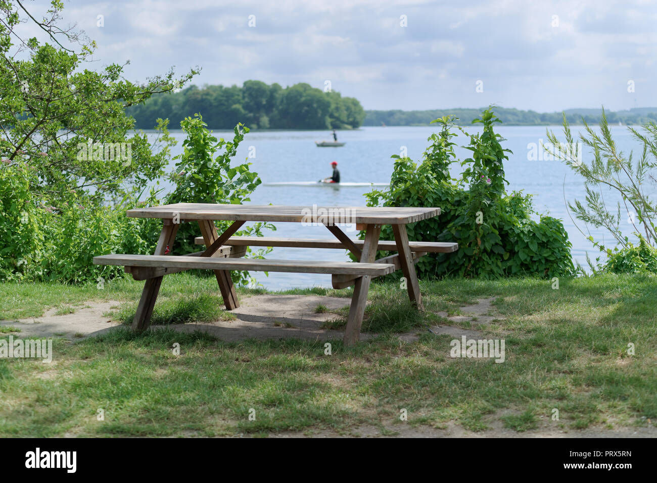 Outstanding Two Wooden Benches Stock Photos Two Wooden Benches Stock Spiritservingveterans Wood Chair Design Ideas Spiritservingveteransorg