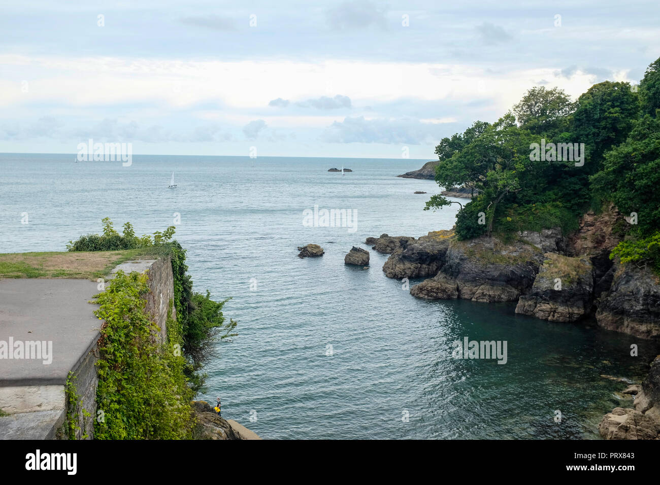 Dartmouth, Devon, England, UK - An area of Outstanding Natural Beauty. - Stock Image