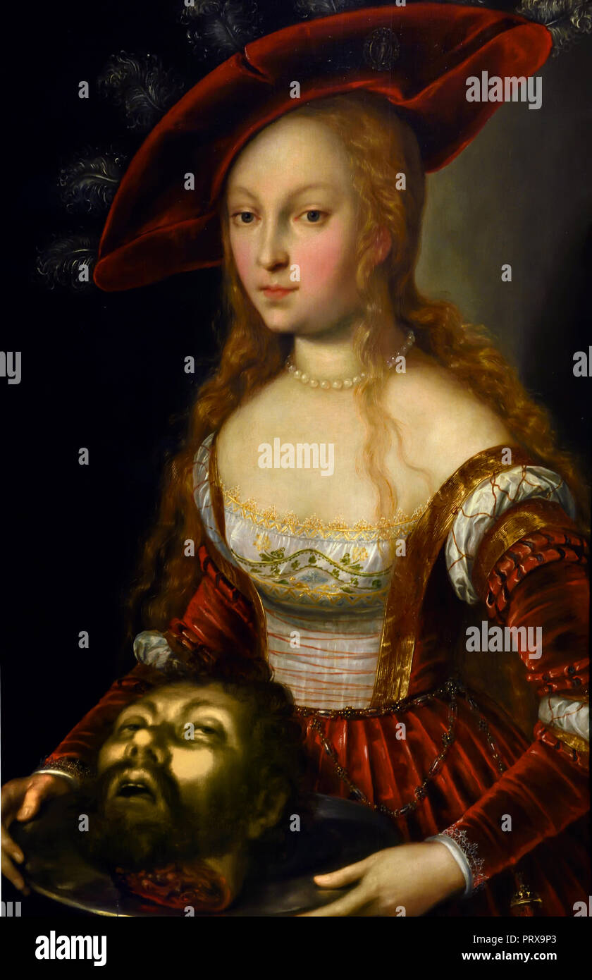 Salome with the head of John t...