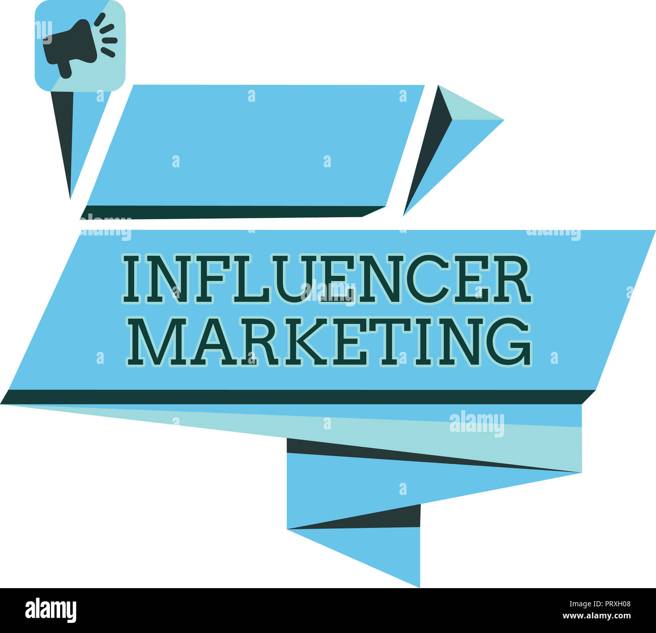 Handwriting text Influencer Marketing. Concept meaning Endorser who Influence Potential Target Customers. - Stock Image