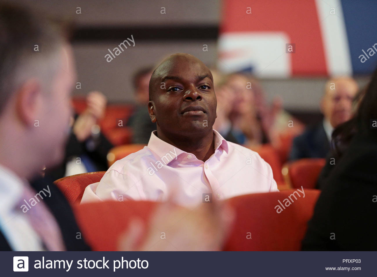 File photo dated 02/10/18 of Shaun Bailey, who will remain as the Tory London mayoral candidate after his comments on Muslims and Hindus that provoked controversy. - Stock Image