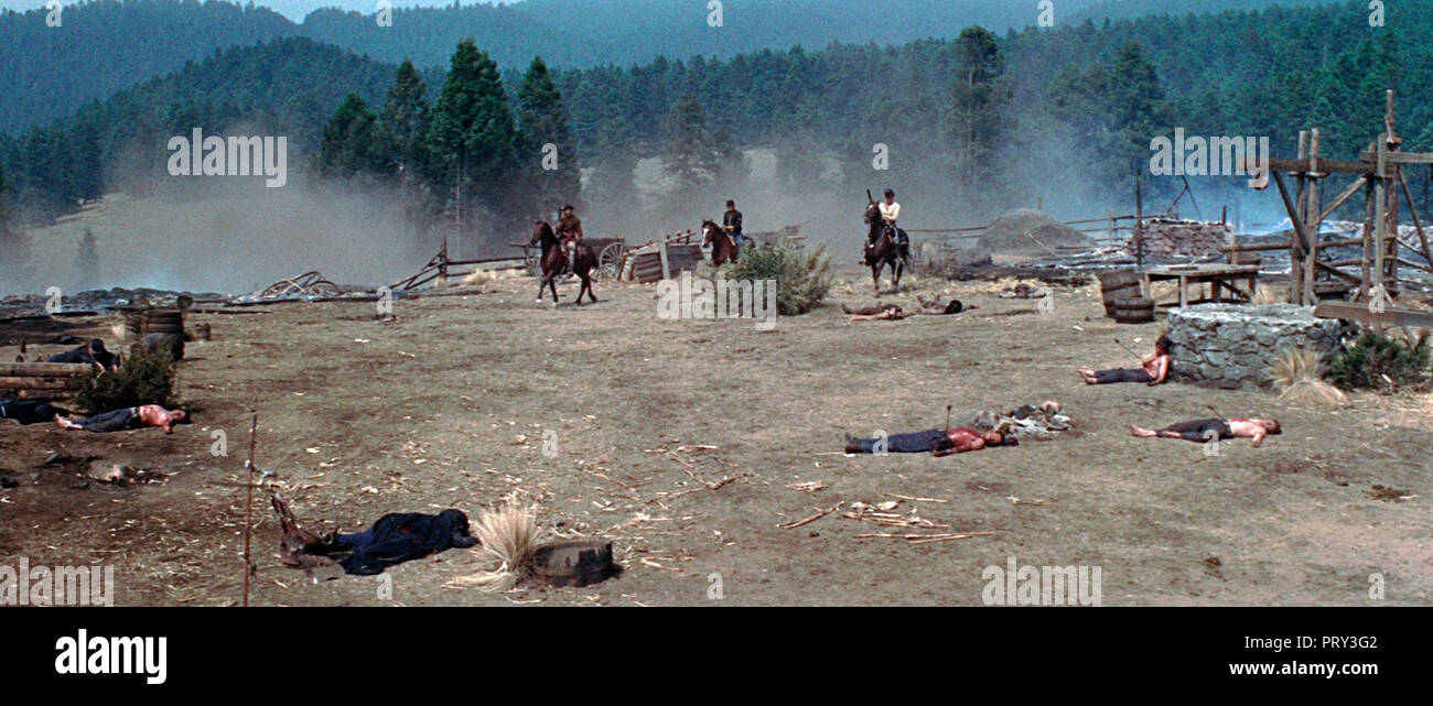 Prod DB © Columbia / DR MAJOR DUNDEE de Sam Peckinpah 1965 USA western - Stock Image