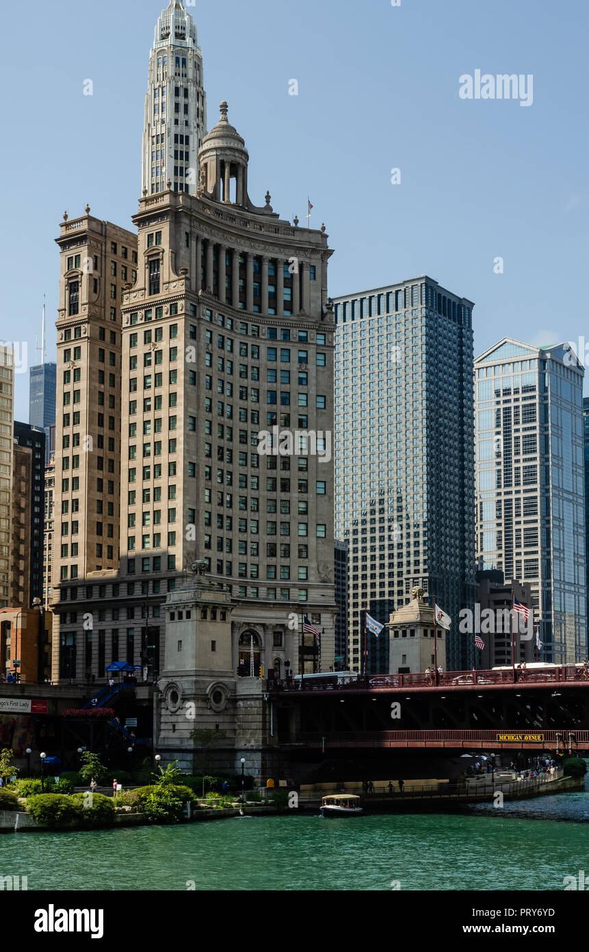 London Guarantee Building in Chicago, Illinois, USA - Stock Image
