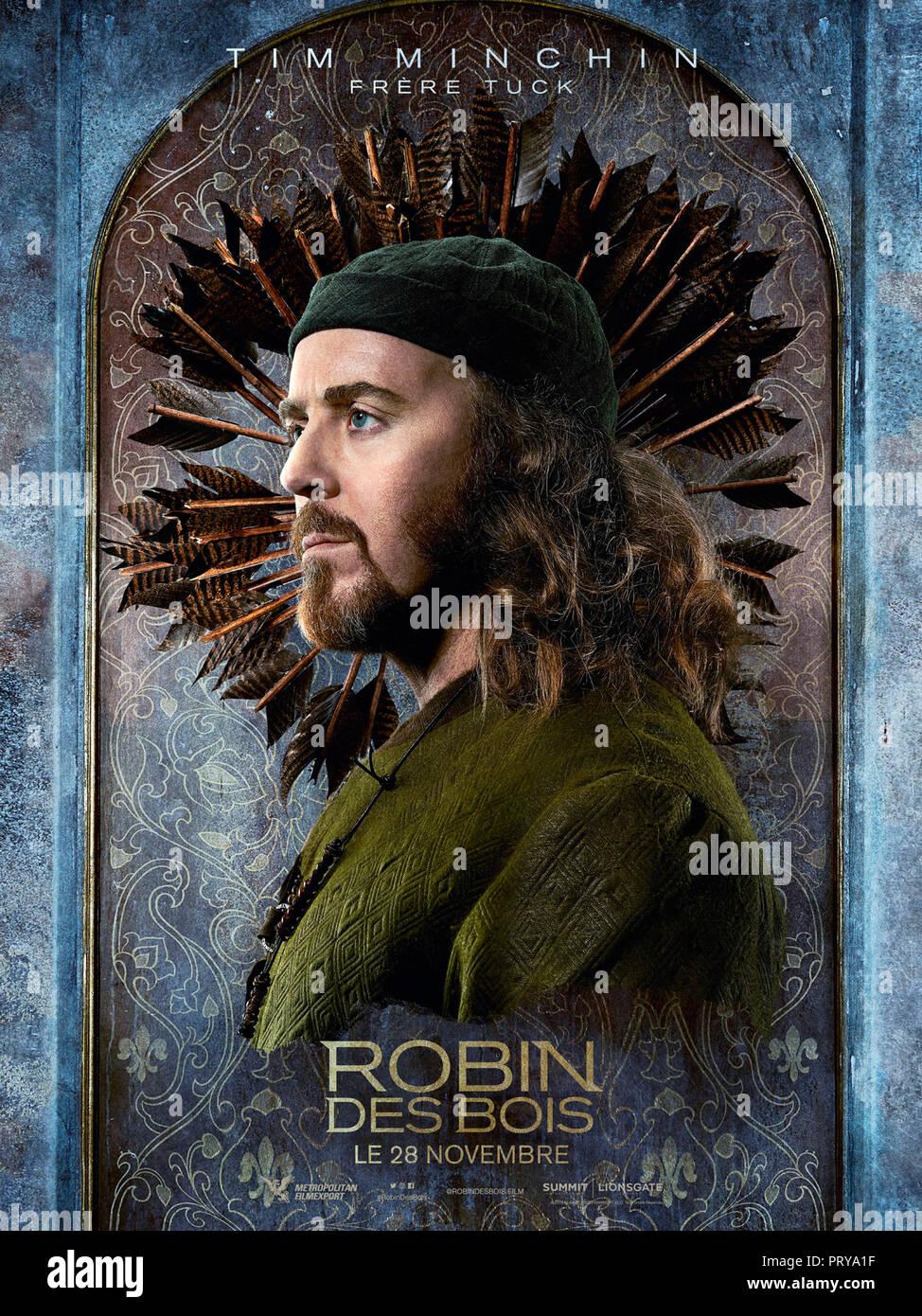Prod DB © Appian Way - Lionsgate - Safehouse Pictures - Thunder Road Pictures / DR ROBIN DES BOIS ROBIN HOOD de Otto Bathurst 2018 USA teaser français - Stock Image