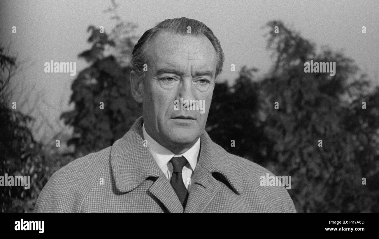 Prod DB © Metro-Goldwyn-Mayer British Studios / DR LE VILLAGE DES DAMNES VILLAGE OF THE DAMNED de Wolf Rilla 1960 GB George Sanders. fantastique; fant - Stock Image
