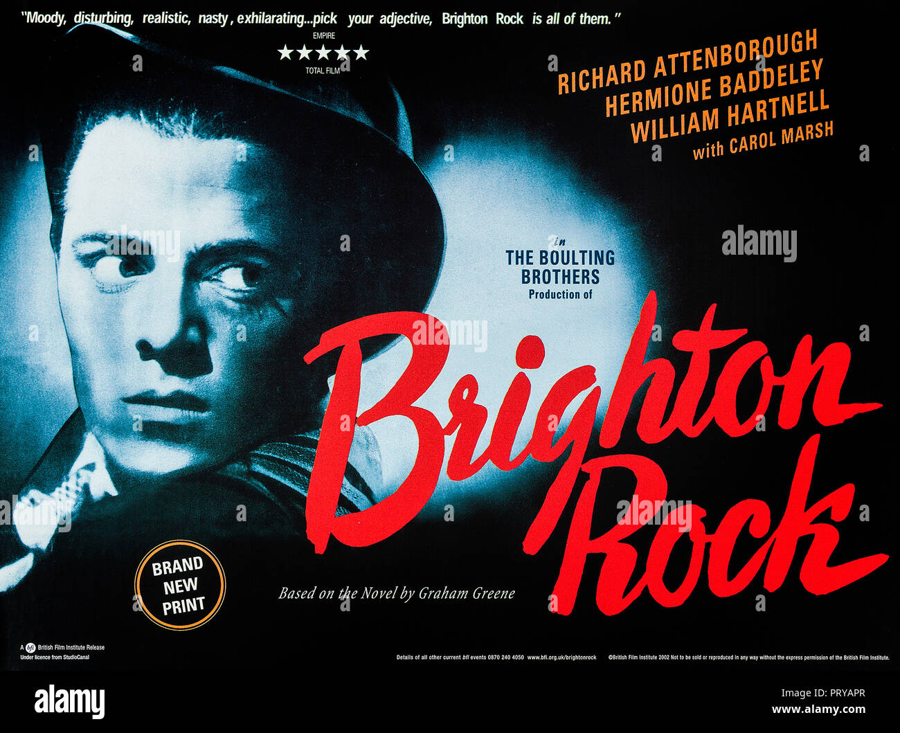Prod DB © Pathe Pictures Ltd. - Associated British Picture Corporation - Charter Film Productions / DR LE GANG DES TUEURS BRIGHTON ROCK de John Boulti - Stock Image