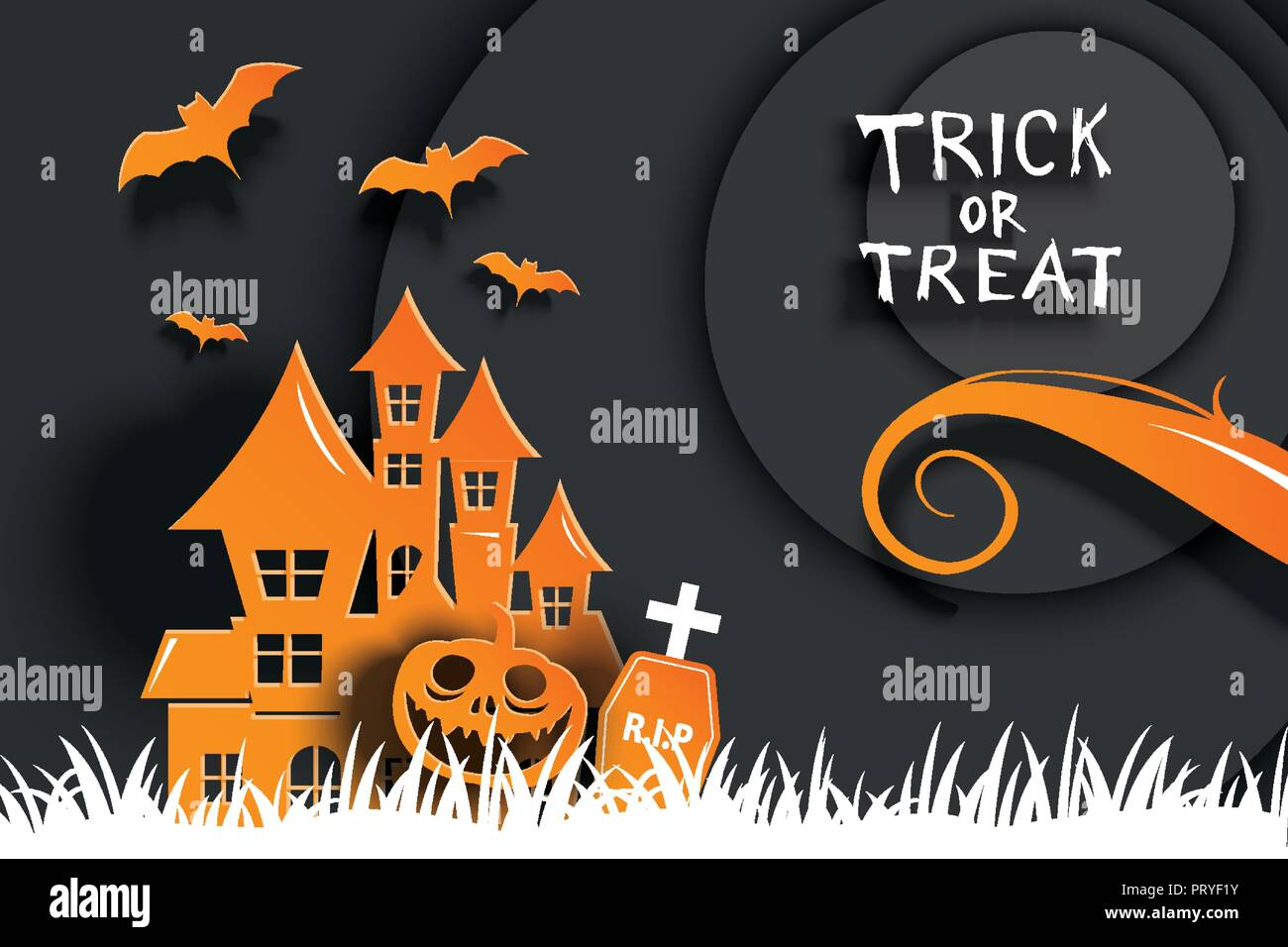 Halloween Party Invitations And Greeting Cards Paper Art