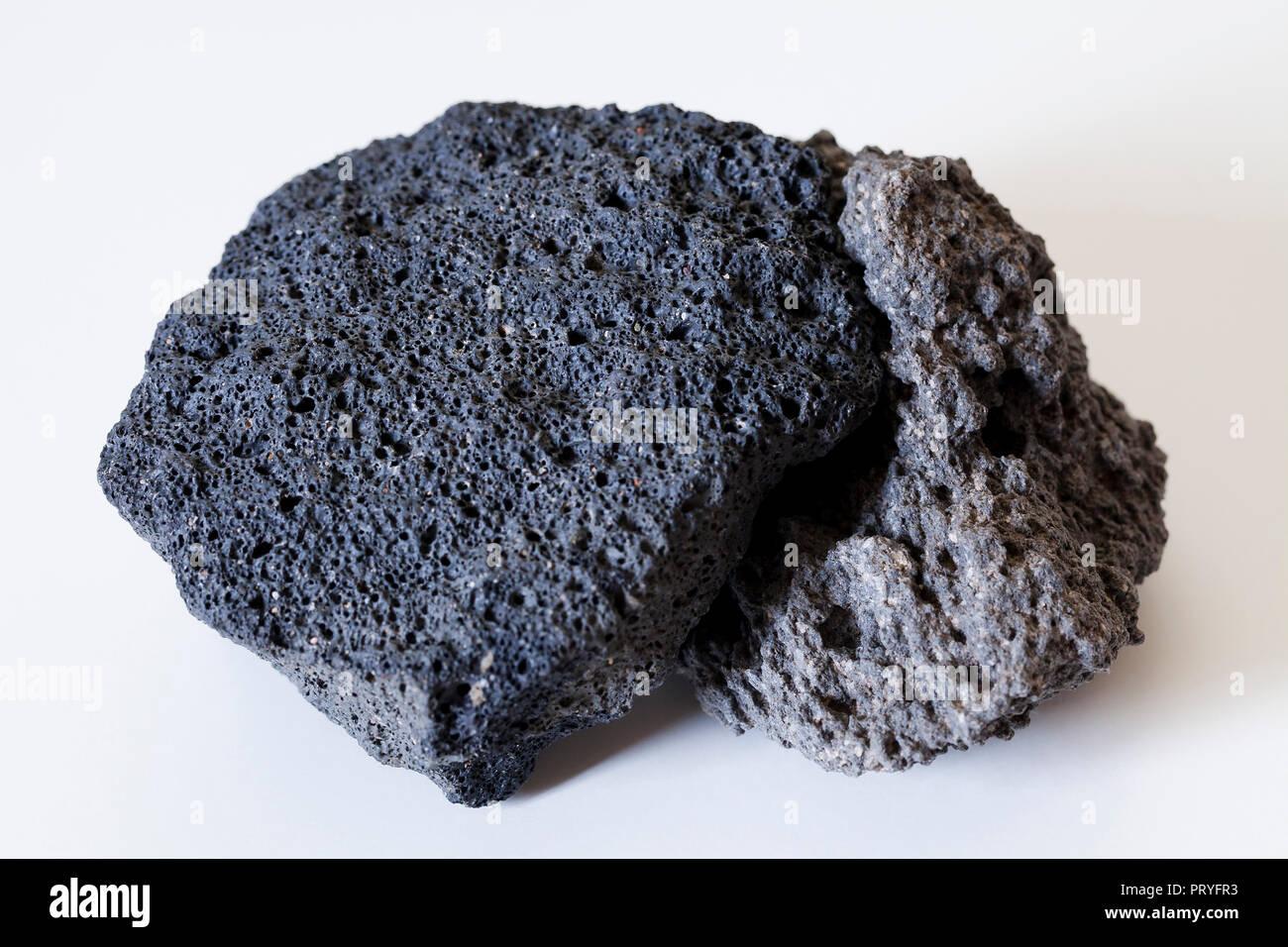 Igneous Rock Scoria Volcanic Rock Lava Rock Showing Vesicles