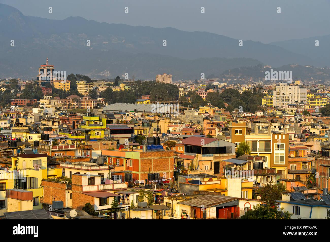 District Lazimpat, Kathmandu, Nepal - Stock Image