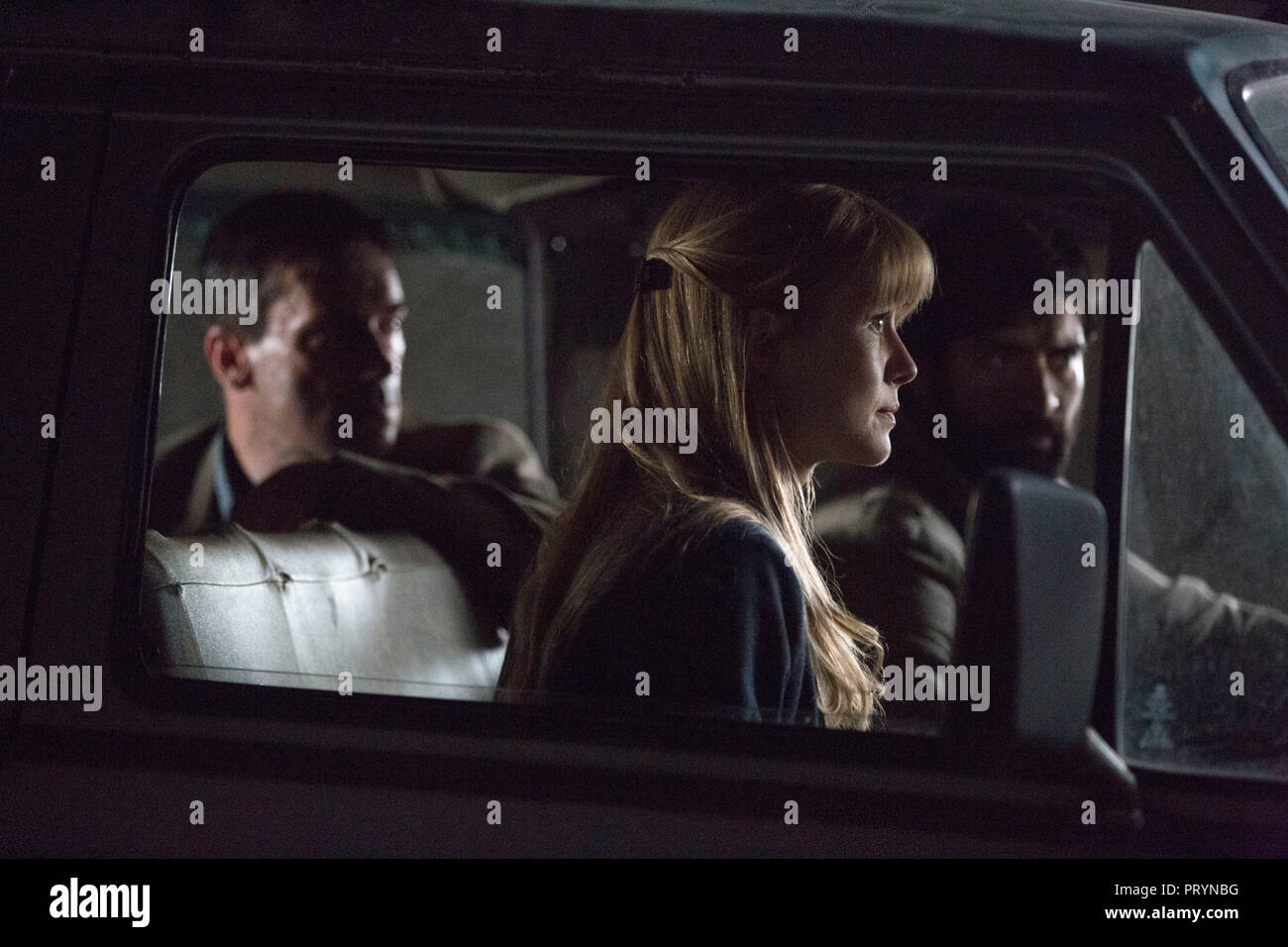 Prod DB © Warner Bros. - Radar Pictures - ShivHans Pictures / DR OPERATION BEYROUTH (BEIRUT) de Brad Anderson 2018 USA avec Rosamund Pike. espionnage, - Stock Image