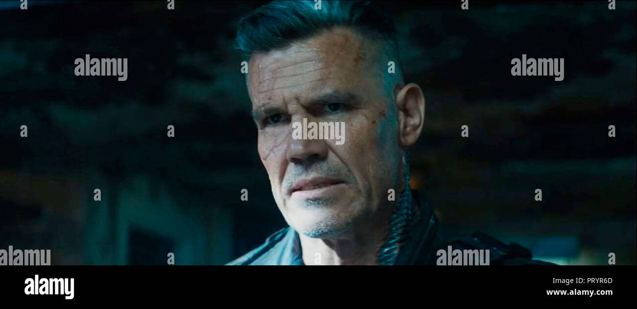 Prod DB © Marvel Entertainment - 20th Century Fox - Donners' Company - Kinberg Genre / DR DEADPOOL 2 de David Leitch 2018 USA Josh Brolin. fantastique - Stock Image
