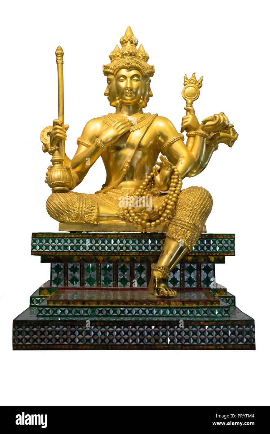 Gold Statue Cut Out Stock Images & Pictures - Alamy