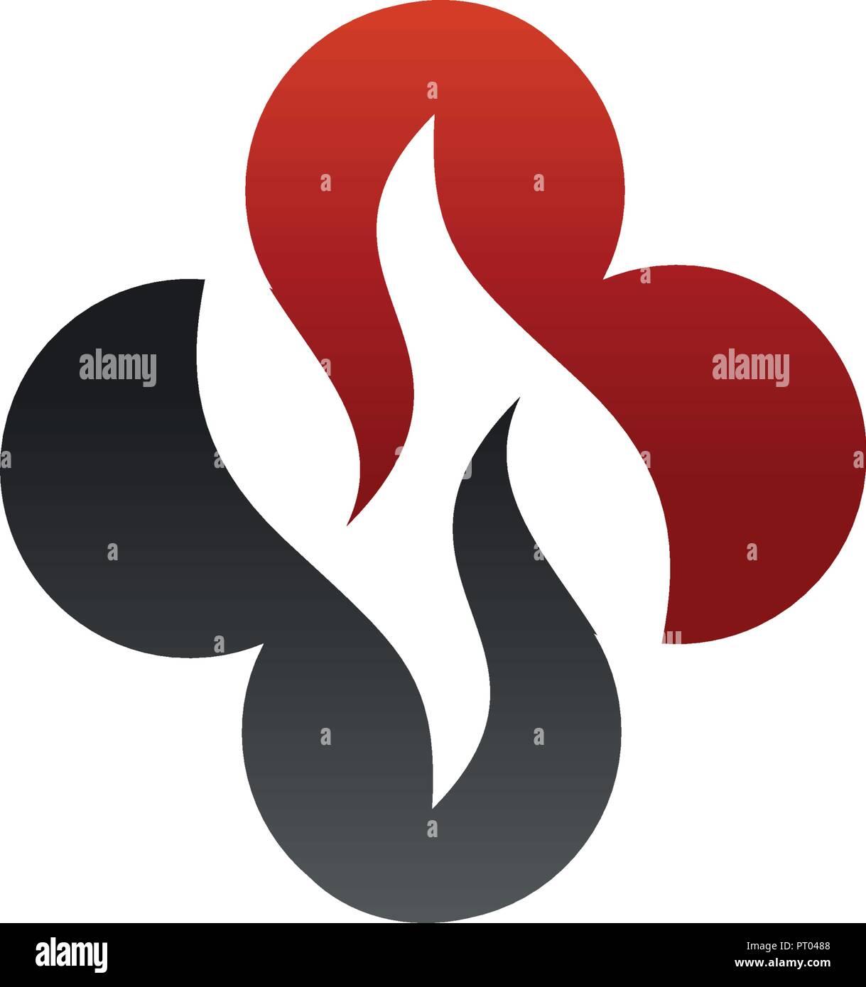 letter h medical logo design concept template