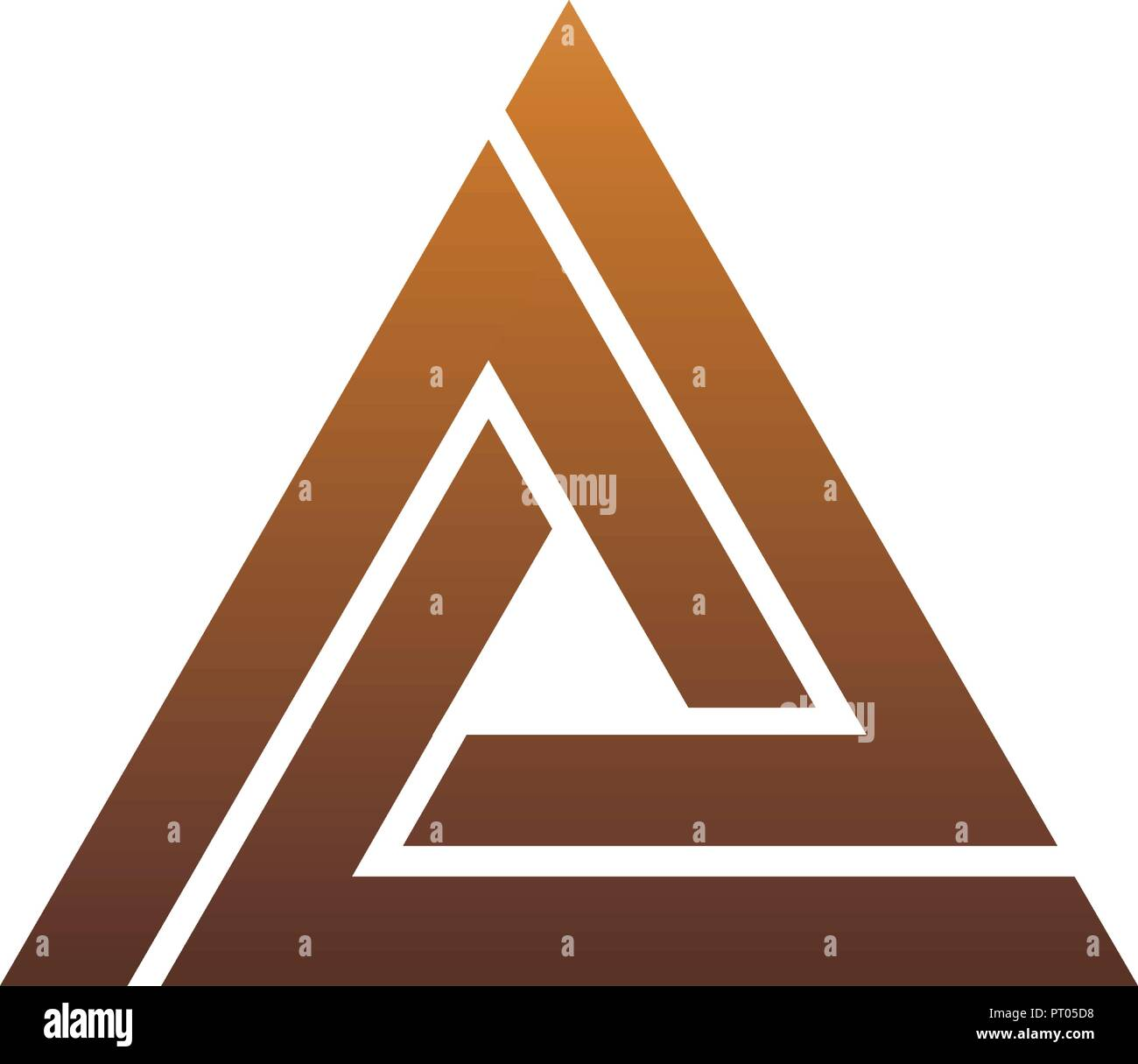 Luxury Letter A Logo Triangle Logo Design Concept Template Stock Vector Image Art Alamy