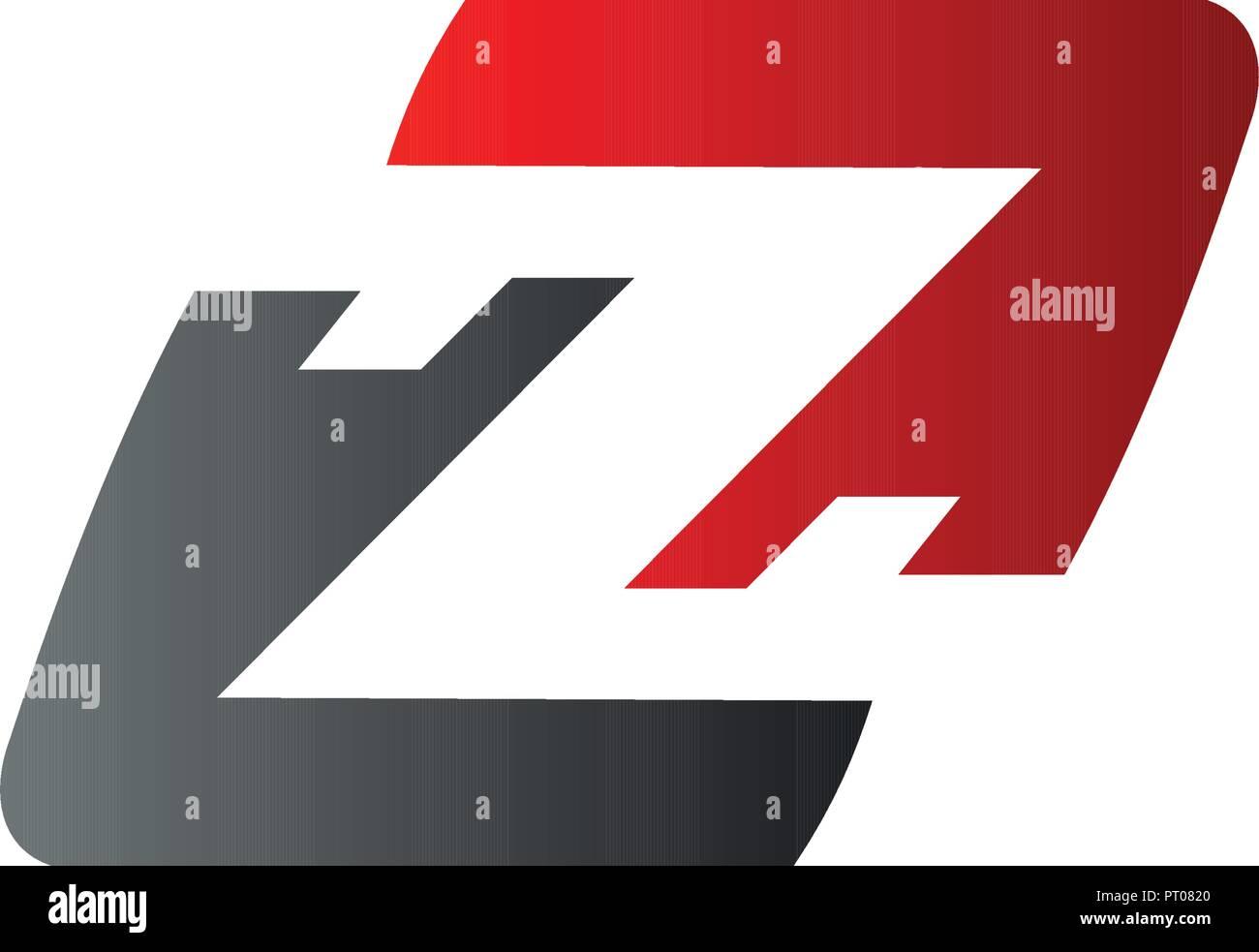 Letter Z Logo Speed Logo Design Concept Template Stock Vector Art