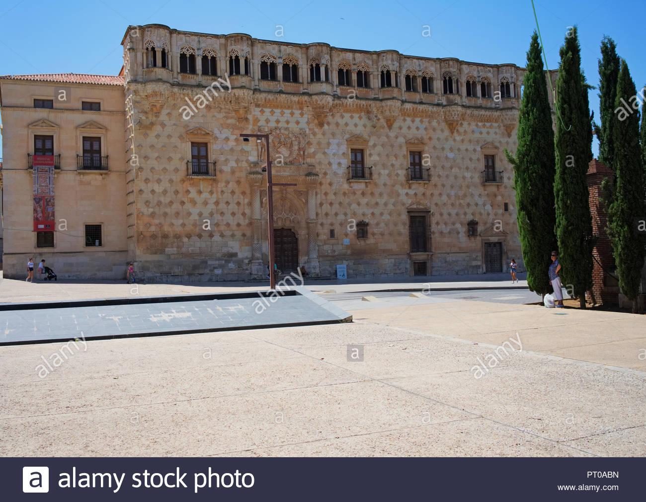 Palacio del infantado Guadalajara - Stock Image