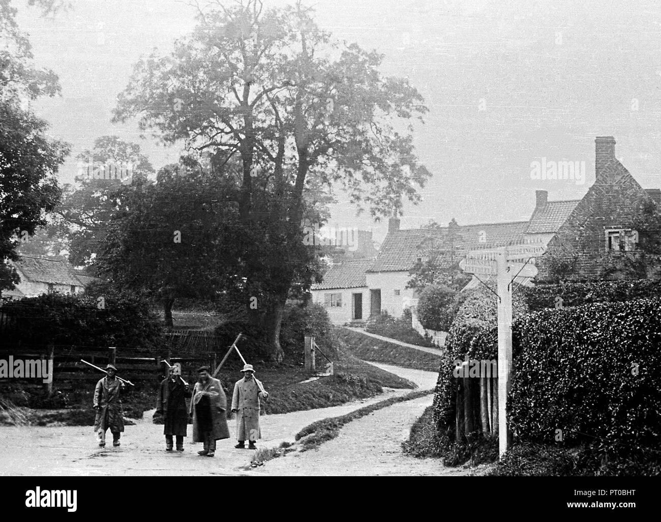 Carnaby near Bridlington early 1900's - Stock Image