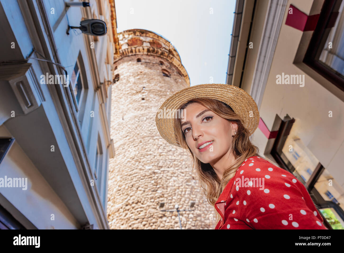Turkish Female Hat Stock Photos & Turkish Female Hat Stock