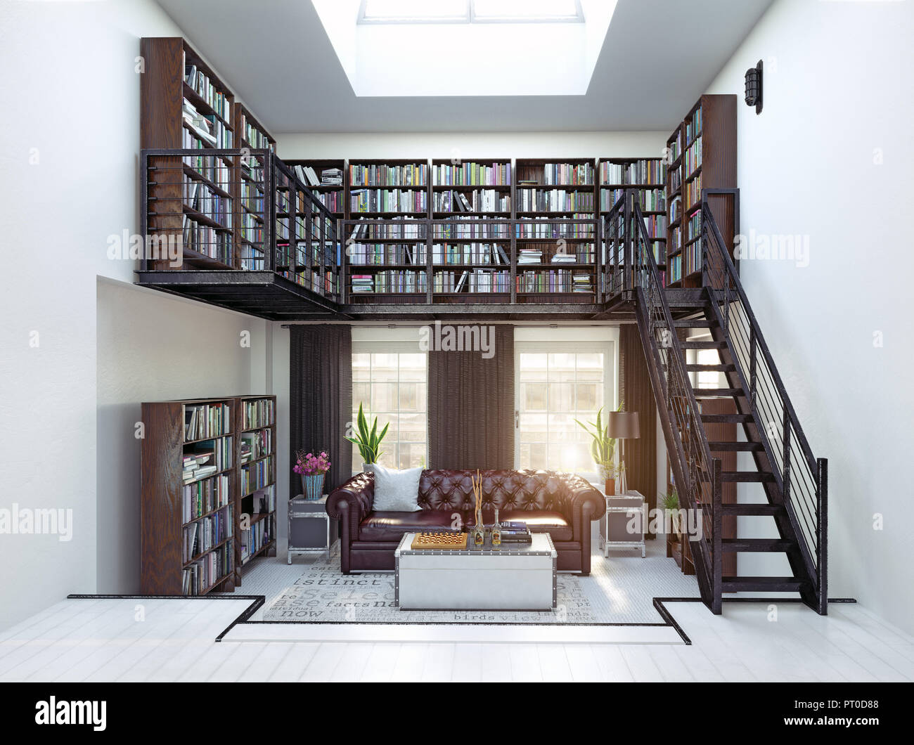 design for home library