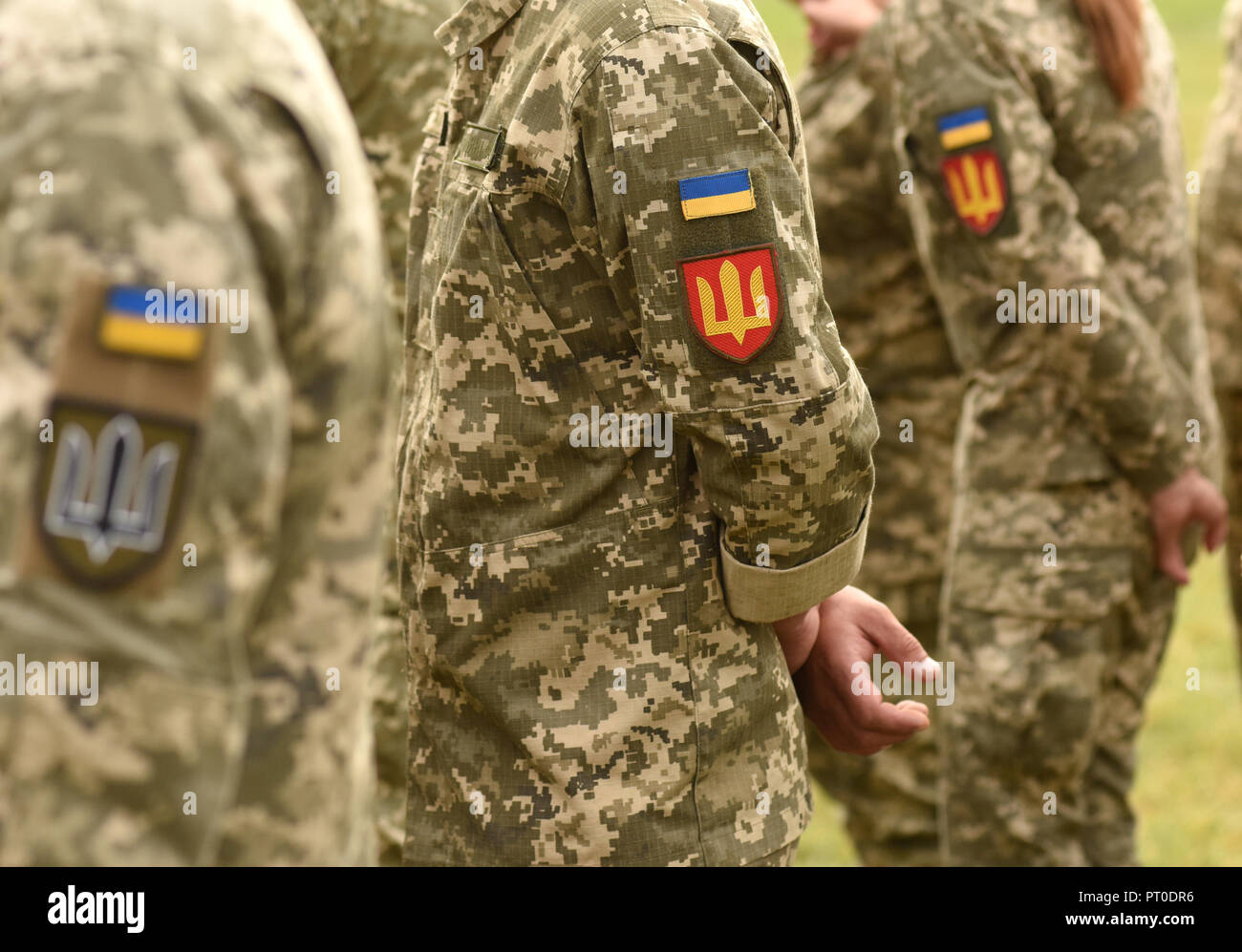 Ukrainian Army Patch National Guard of Ukraine Dog Training Service