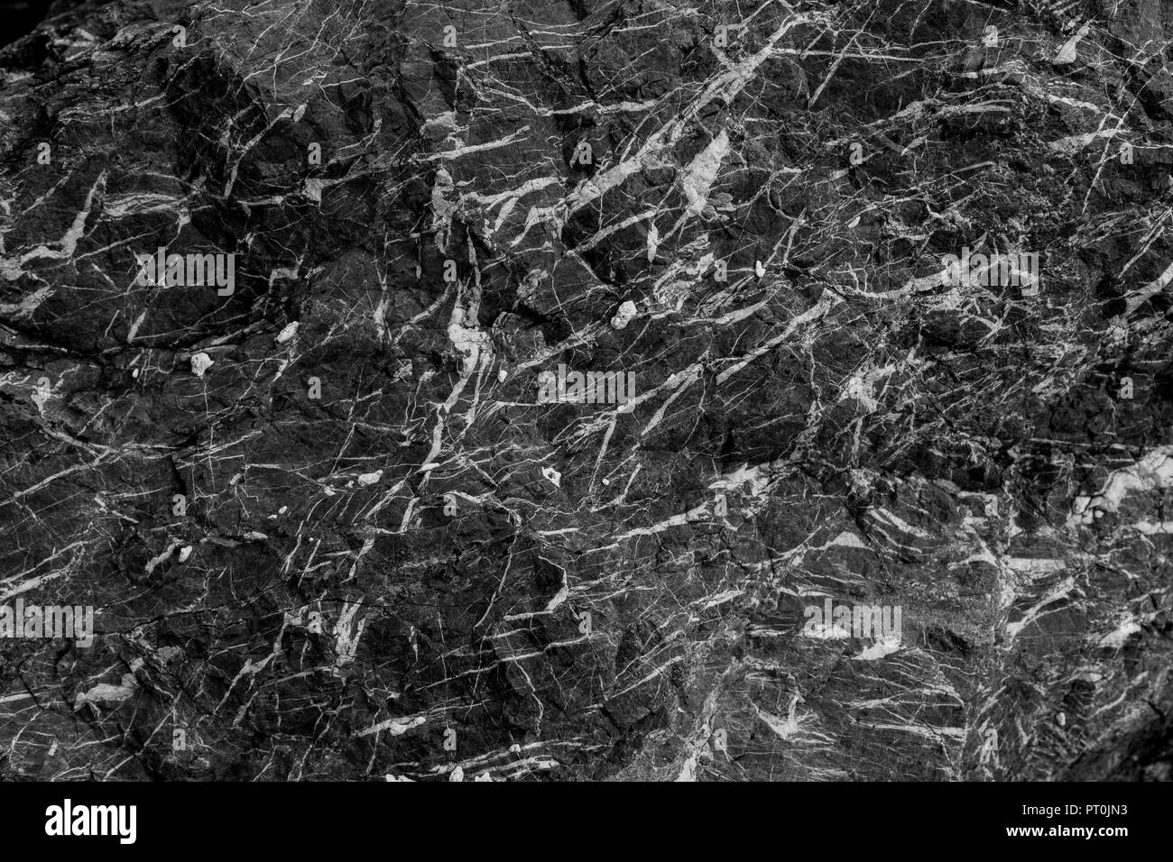 Dark And Black Marble Texture Abstract Background Stock