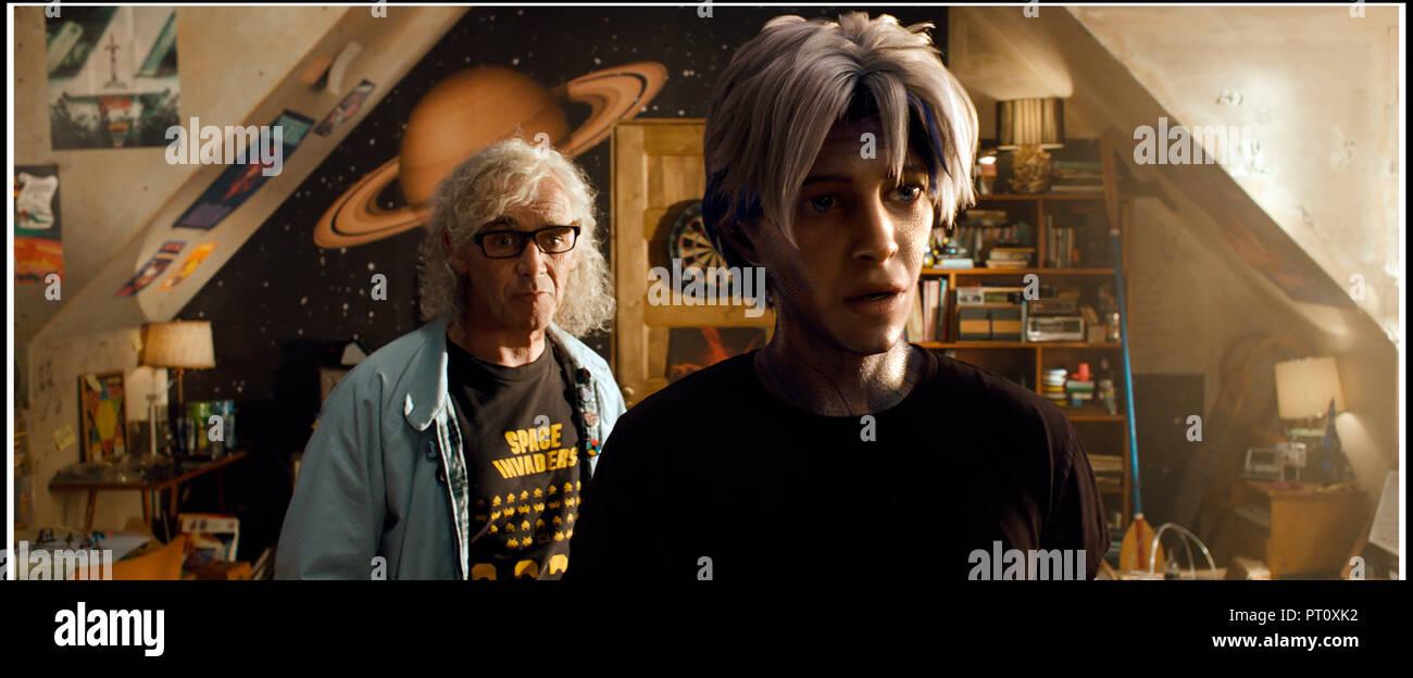 Prod DB © Warner Bros. - Village Roadshow Pictures - Amblin Entertainment - De Line Pictures - DreamWorks / DR READY PLAYER ONE de Steven Spielberg 20 Stock Photo