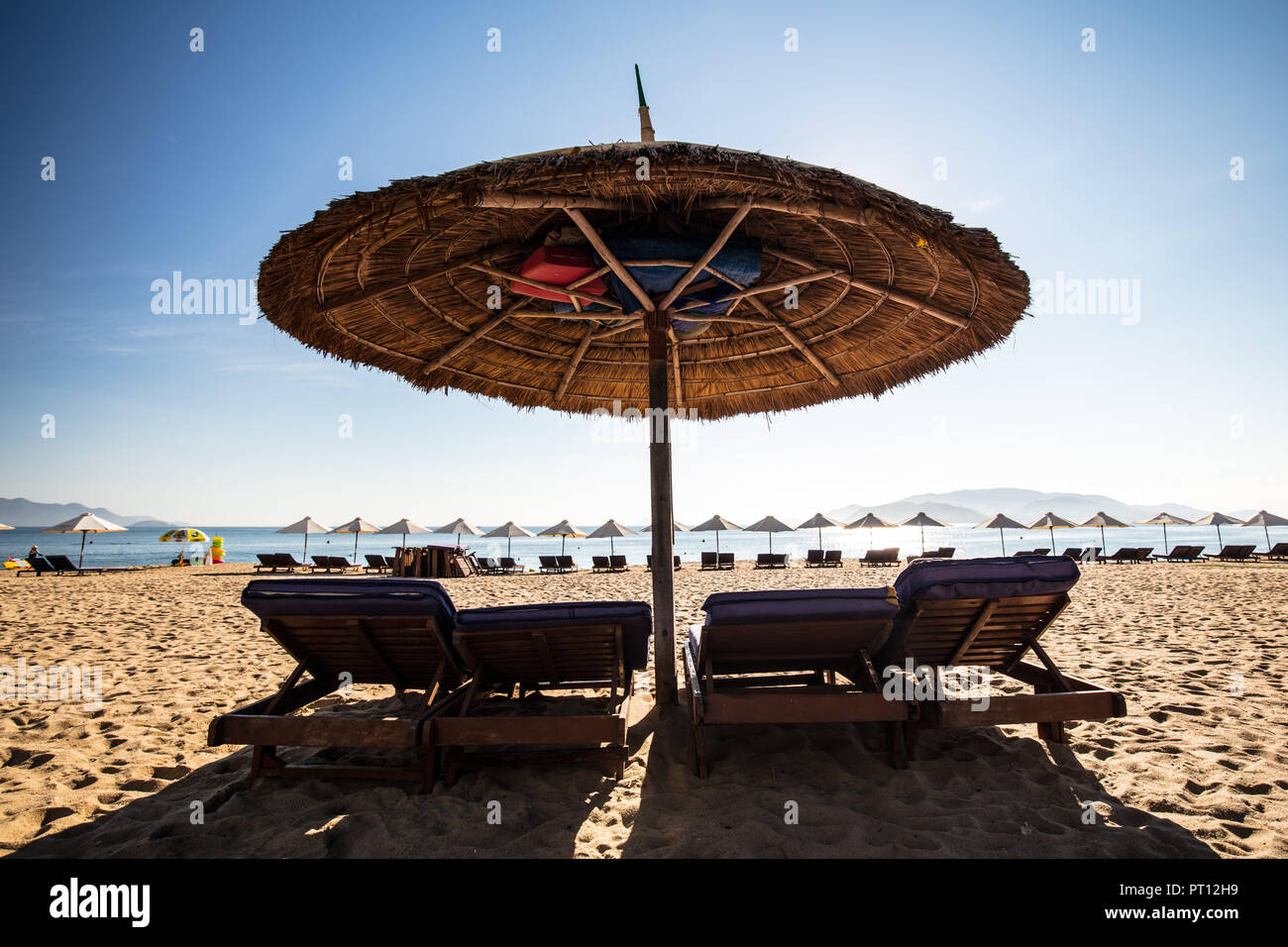 Nha Trang Main Beach - Stock Image