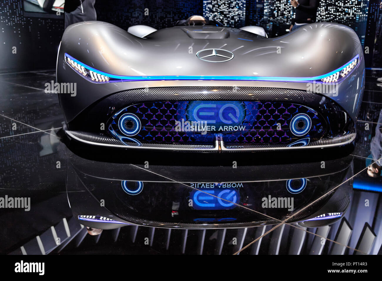 Paris, France. 2nd Oct, 2018. The 2018 edition of the Mondial Paris Motor Show. Stock Photo