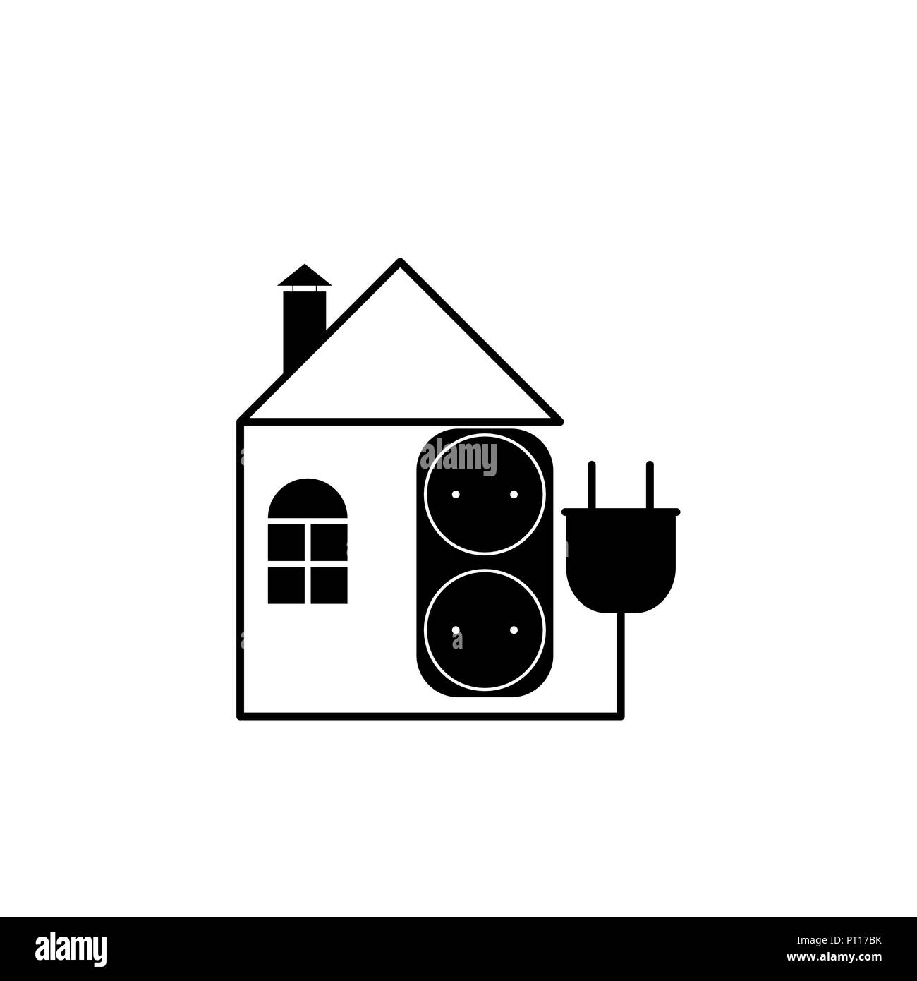 Wiring House Stock Vector Images Alamy