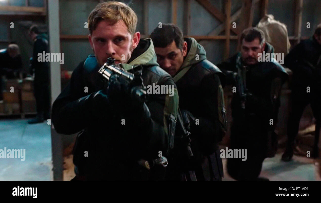 Prod DB © General Film Corporation / DR 6 DAYS SIX DAYS de Toa Fraser 2017 GB/NZ Jamie Bell. terrorisme; terrorism; histoire vraie; true story; 1980's - Stock Image