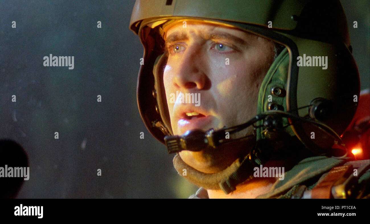 Prod DB © Touchstone Pictures - Nova International Films / DR FIRE BIRDS de David Green 1990 USA Nicolas Cage. action; pilote d'helicoptere; helicopte - Stock Image