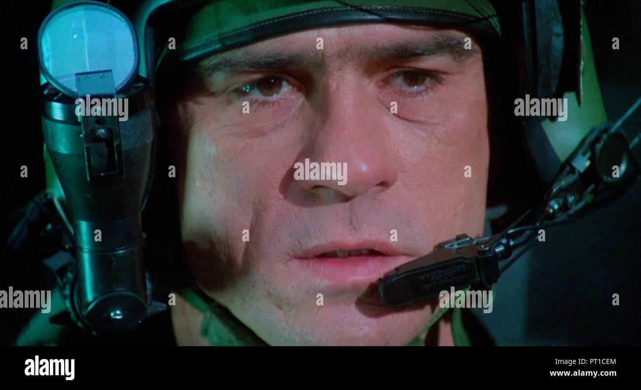 Prod DB © Touchstone Pictures - Nova International Films / DR FIRE BIRDS de David Green 1990 USA Tommy Lee Jones. action; pilote d'helicoptere; helico - Stock Image
