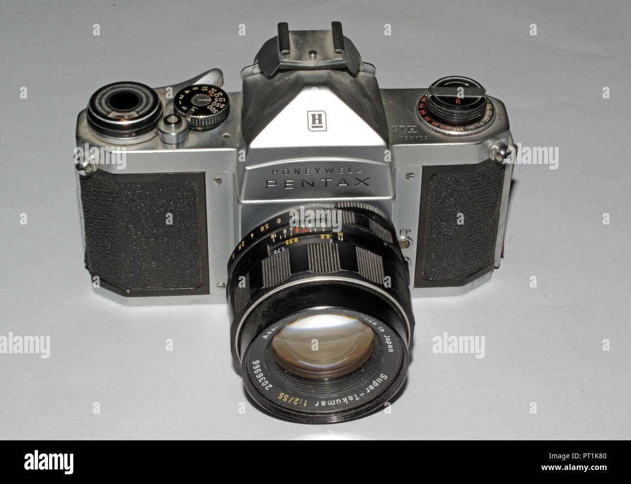 Honeywell Pentax H-1 camera  with lens (1965 about) - Stock Image
