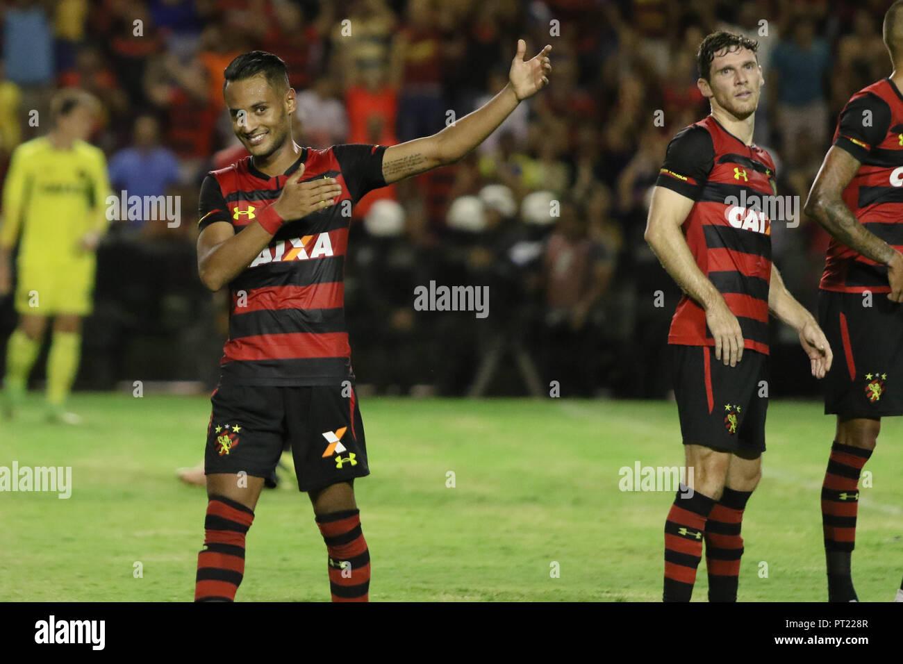 Pe Recife 05 10 2018 Brazilian A 2018 Sport Recife X Internacional Rs During A Match