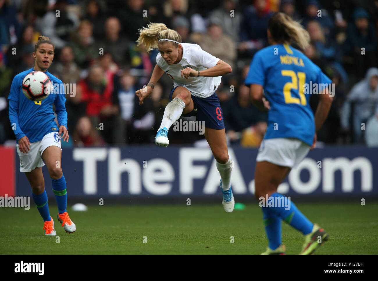 RACHEL DALY ENGLAND WOMEN V BRAZIL WOMEN ENGLAND WOMEN V BRAZIL WOMEN WOMENS  INTERNATIONAL 06 October 2018 GBD12320 STRICTLY EDITORIAL USE ONLY. 04d7053bc