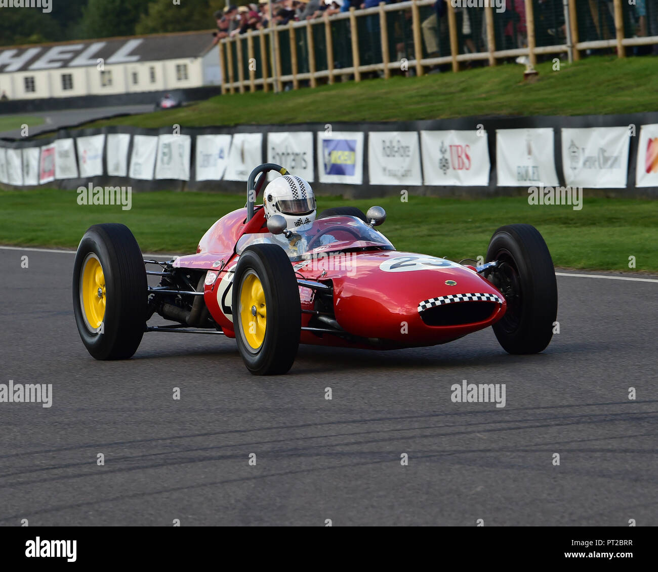 Grand Prix Lotus Climax Stock Photos & Grand Prix Lotus