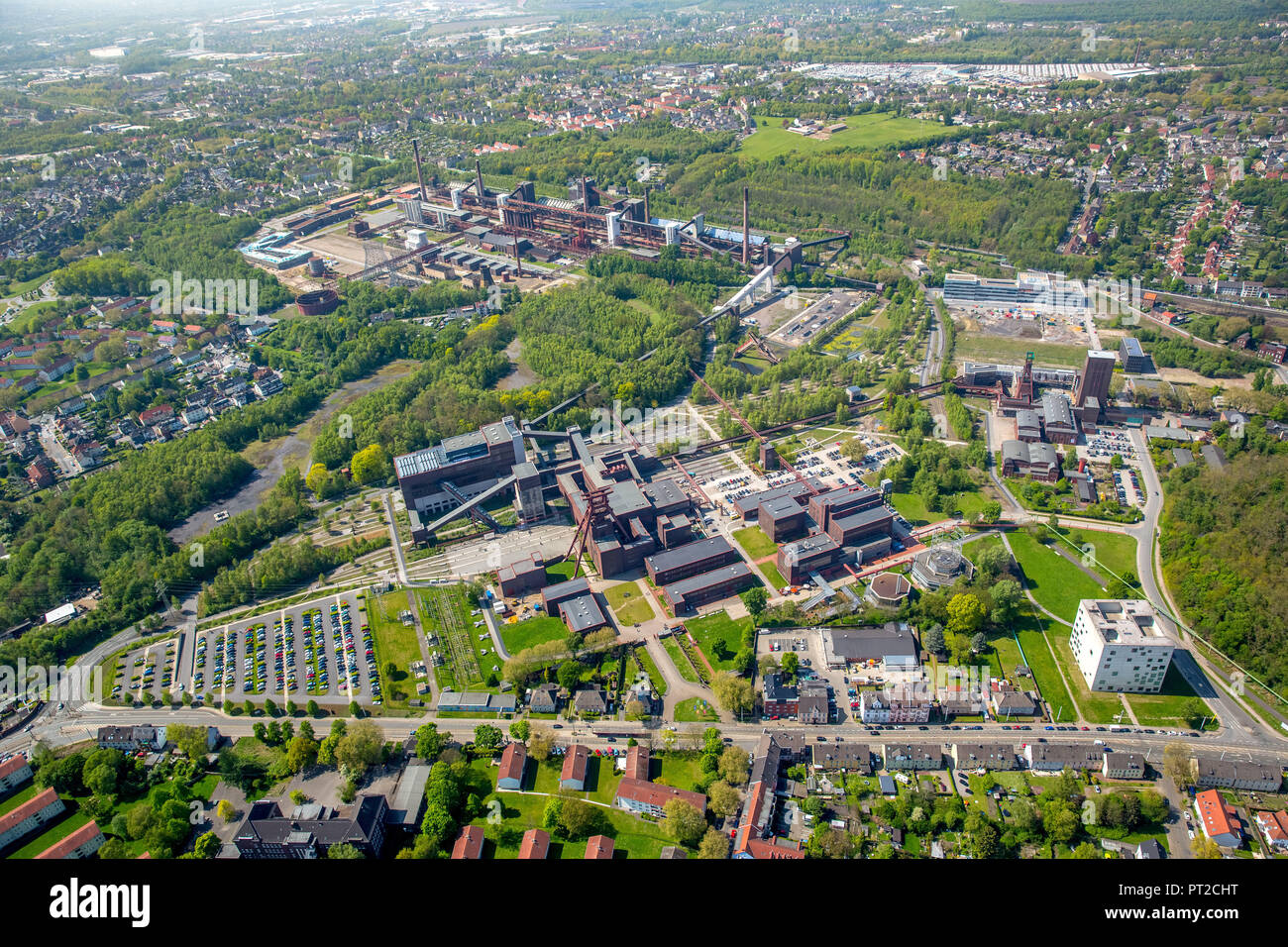 Zollverein, World Cultural Heritage Zeche Zollverein, Essen, Ruhr Area, North Rhine-Westphalia, Germany, Europe - Stock Image