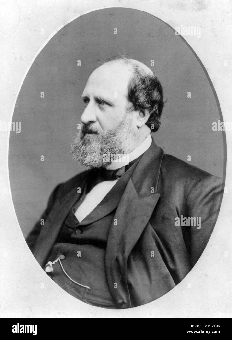 WILLIAM TWEED (1823-1878) American Democratic politician - Stock Image