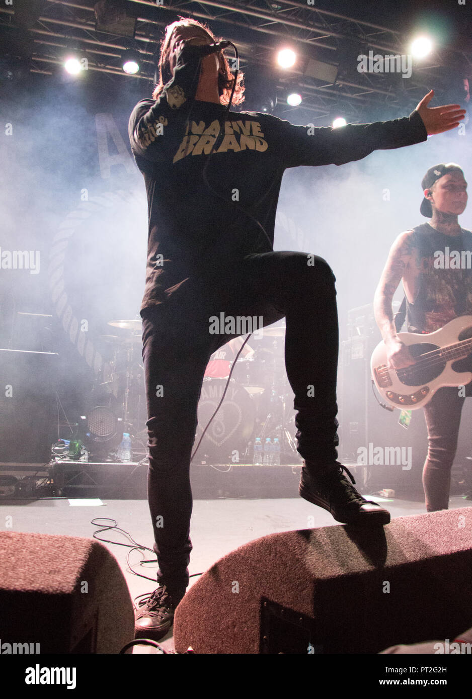 The Amity Affliction Manchester Academy 2015 - Stock Image